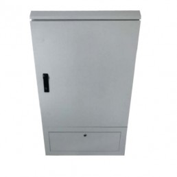 Fiber optic outdoor cabinet